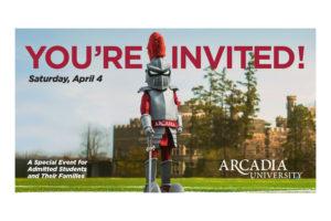 Arcadia - Invitation